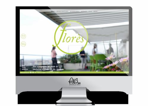 Refonte de site web - florès